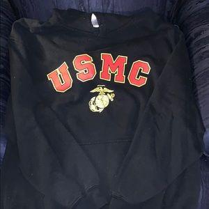 Other - USMC hoodie